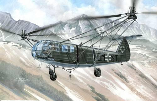 Special Hobby Focke Achgelis FA 223 E-0 Drache makett