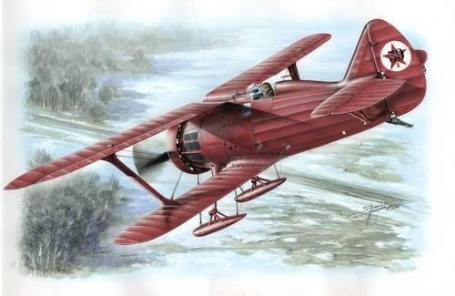 Special Hobby Polikarpov I-15 ''Red Army'' makett