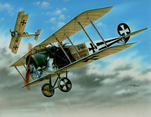 Special Hobby Fokker D.II 'Black & White Tails' makett