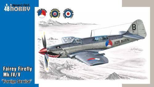 Special Hobby Fairey Firefly Mk.IV/V makett