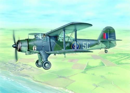 Special Hobby Fairey Albacore Mk.I makett