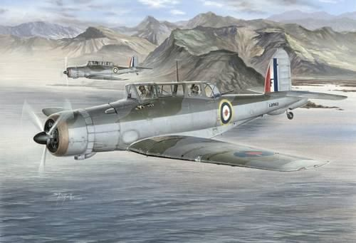 Special Hobby Blackburn Skua Mk. II Norwegian Campaign makett