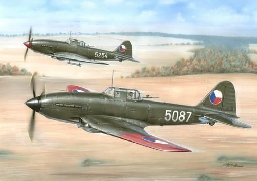 Special Hobby Avia B-33 Czechoslovakian built IL-10 Beast makett