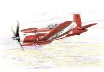 Special Hobby F2G Super Corsair Racing Aircraft makett