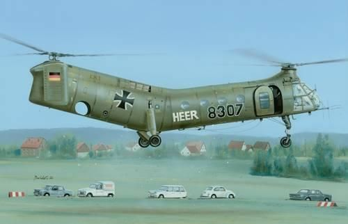 Special Hobby H-21 Workhorse 'German & French Marking' makett
