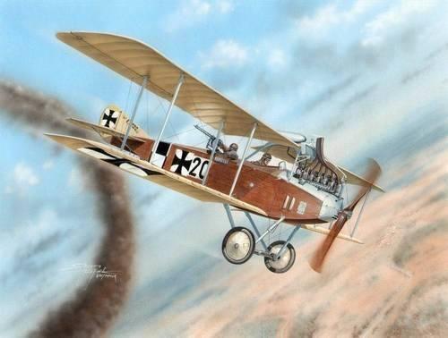 Special Hobby Albatros C.III makett