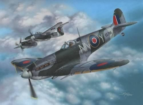 Special Hobby Supermarine Spitfire Mk.VC makett