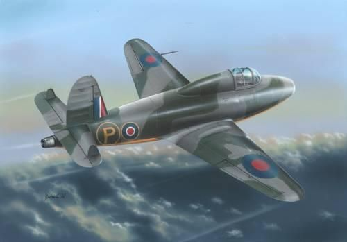 Special Hobby Gloster E.28/39 Pioneer 'Late version' makett