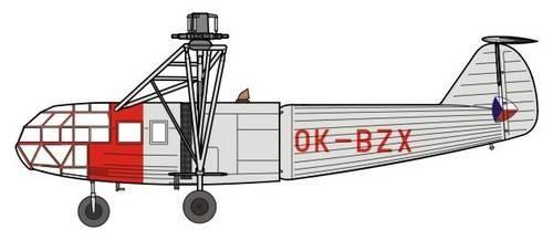 Special Hobby VR-1 Czechoslovakian FA-223 Drache makett