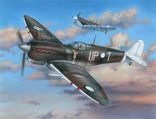 "Special Hobby Spitfire Mk.VC ""RAAF Service"" makett"