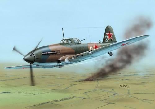 "Special Hobby Ilyushin Il-10 ""Last WWII Days"" makett"