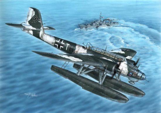 Special Hobby Heinkel He 115 makett