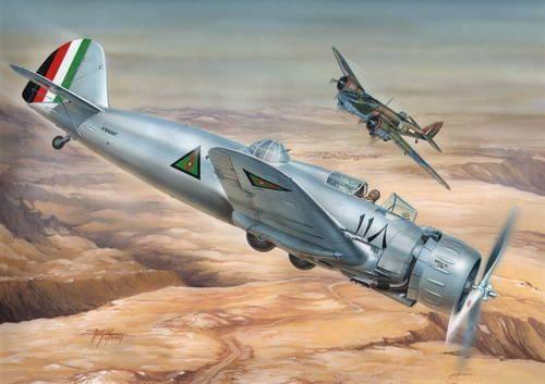 "Special Hobby Breda Ba.65 A-80 ""Two seater"" makett"