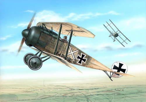 Special Hobby Fokker D.V makett