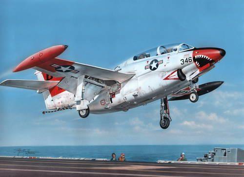 Special Hobby T-2 Buckeye Red & White Trainer makett