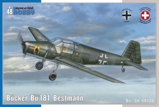 Special Hobby Bücker Bü 181 Bestman makett