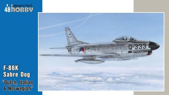 Special Hobby F-86K NATO All Weather Fighter makett
