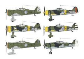 "Special Hobby Fokker D.XXI Duo Pack ""3.sarja&4.sarja"