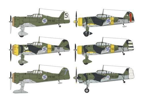 "Special Hobby Fokker D.XXI Duo Pack ""3.sarja&4.sarja makett"