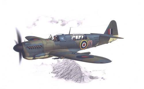 "Special Hobby Fairey Firefly Mk.I ""Home Fleet"" makett"