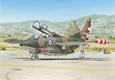 "Special Hobby T-2 Buckeye ""Camouflaged Trainer"" makett"