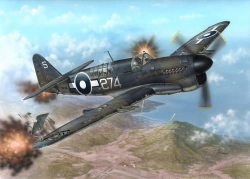 "Special Hobby Fairey Firefly Mk.I ""Pacific Fleet"" makett"