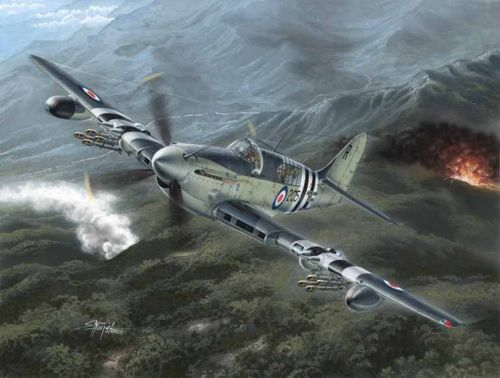 "Special Hobby Fairey Firefly Mk.4/5 ""Korean War"" makett"