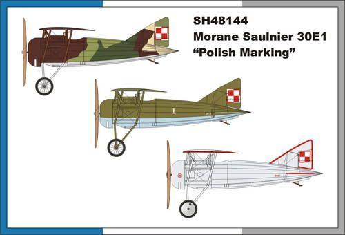 "Special Hobby Morane Saulnier 30E1 ""Polish Marking"" makett"