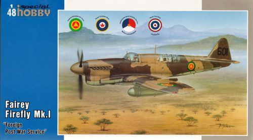 Special Hobby Fairey Firefly FR Mk.I Foregin Post War makett