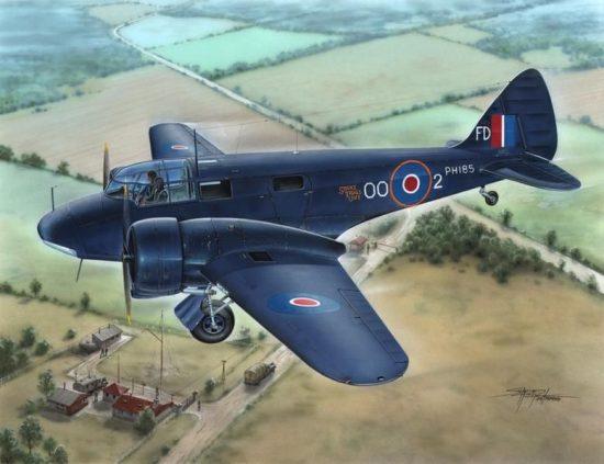 Special Hobby Airspeed Oxford Mk.I/II Royal Navy makett