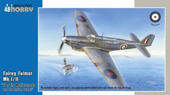 Special Hobby Fairey Fulmar Mk.I/II Hi-Tech version