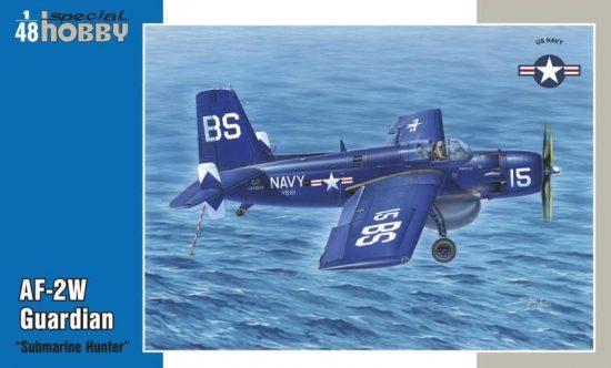 "Special Hobby AF-2W Guardian ""Submarine Hunter"" makett"