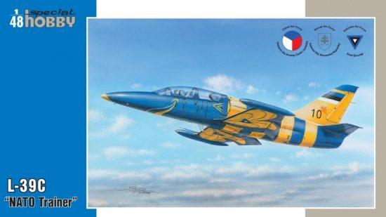 Special Hobby L-39C Albatros NATO Trainer makett