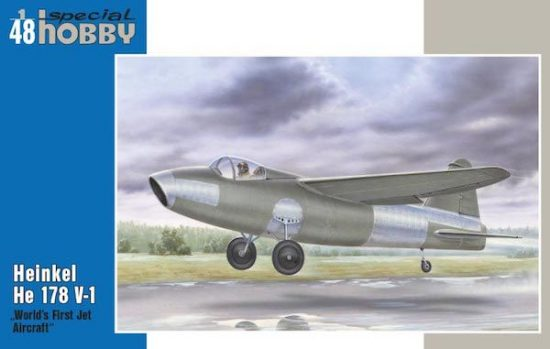 Special Hobby Heinkel He 178V-1 makett