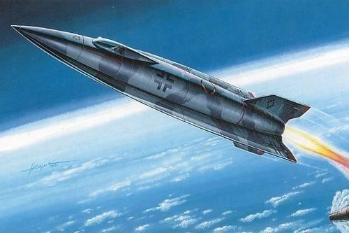 Special Hobby EMW A 9 Raketenprojekt makett
