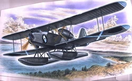 Special Hobby Heinkel He 59 B makett