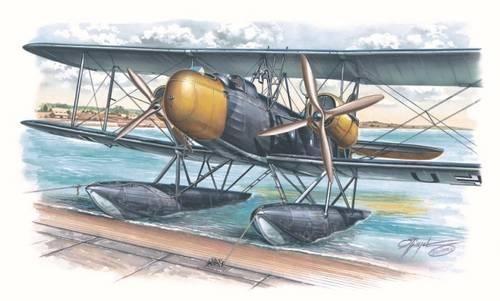 Special Hobby Heinkel He 59 D makett
