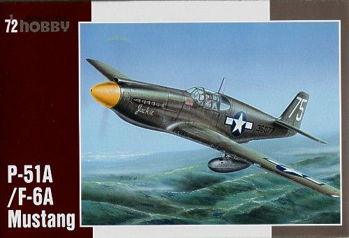 Special Hobby P-51AF-6A Mustang