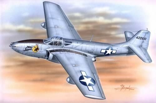 Special Hobby Bell P-59 A/B Airacomet makett