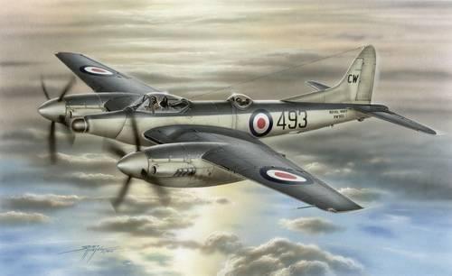 Special Hobby Airco DH 103 Sea Hornet NF. Mk. 21 makett
