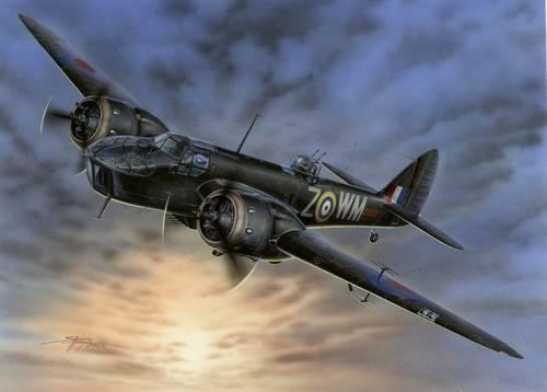Special Hobby Bristol Blenheim F. Mk.IVF Fighter Version makett