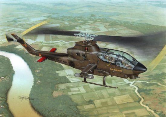 "Special Hobby AH-1G Cobra""Over Vietnam with M-35 GunSy"