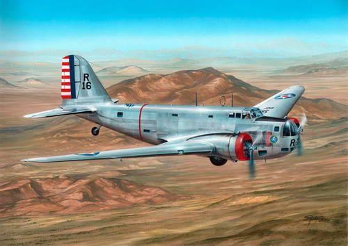 "Special Hobby B-18 Bolo ""Pre War Service"" makett"