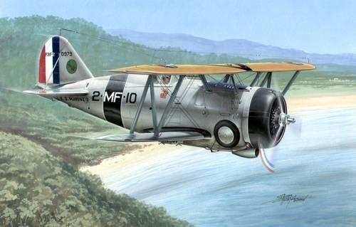 Special Hobby F3F-2 Flying Barrel makett