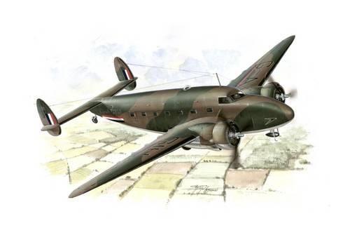 Special Hobby C-60 Lodestar in British and Norwegian Service makett
