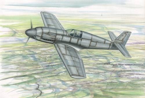 Special Hobby Heinkel He 100V-8 ''World Speed Record'' makett
