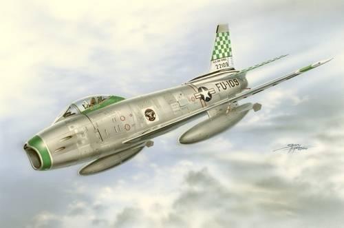 Special Hobby F-86H Sabre Hog makett