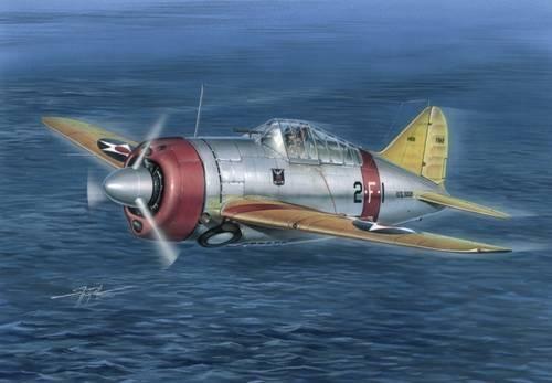 Special Hobby F2A-2 Buffalo makett