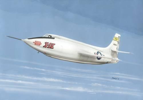 Special Hobby X-1E Last Model makett