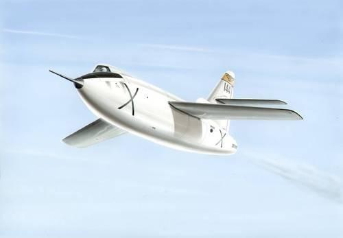 Special Hobby D-558-2 Skyrocket makett